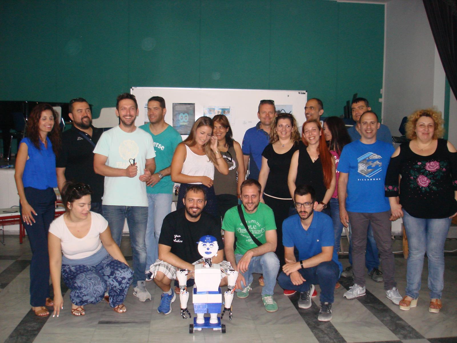 Παρουσίαση ρομποτικών συστημάτων
