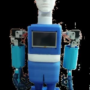 Εκπαιδευτικό Ανθρωποειδές Ρομπότ με ρόδες